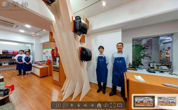 「EISHINランドセルファクトリー」店舗360VRを公開中